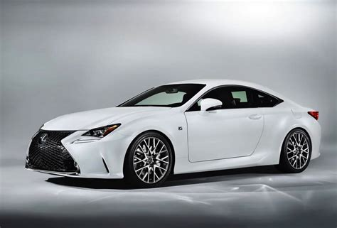 sporty lexus coupe lexus rc 350 f sport revealed gets rear wheel steering