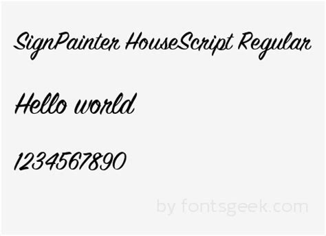 sign painter house casual font sign painter house script font 28 images sign painter font kit signage sign