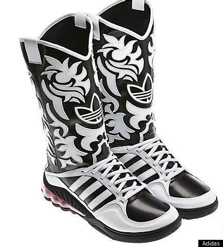 adidas sneaker boot adidas releases cowboyboot sneaker hybrid shoe photos