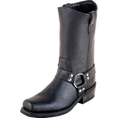 Women S Double H 174 12 Quot Harness Boots Black 47896 Casual