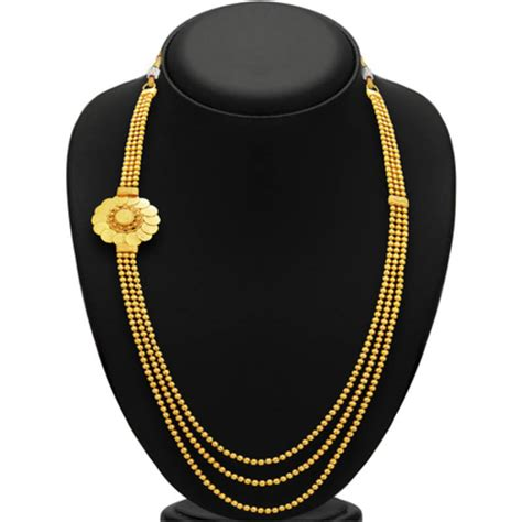 Amazing String - buy amazing three string laxmi temple coin gold plated
