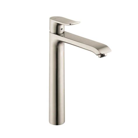 Hansgrohe Bathroom Fixtures Hansgrohe Metris One Handle Vessel Sink Bathroom Faucet Nickel 31183821 J Keats