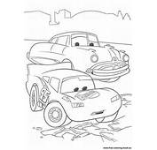 Coloring Pages Cars Disney Pixar  Page 1 Printable