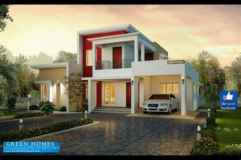 3 Bedroom Contemporary House Plans by Green Homes Awesome 3 Bedroom Modern House Design