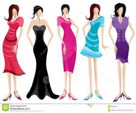fashionable women royalty free stock images image 8035069