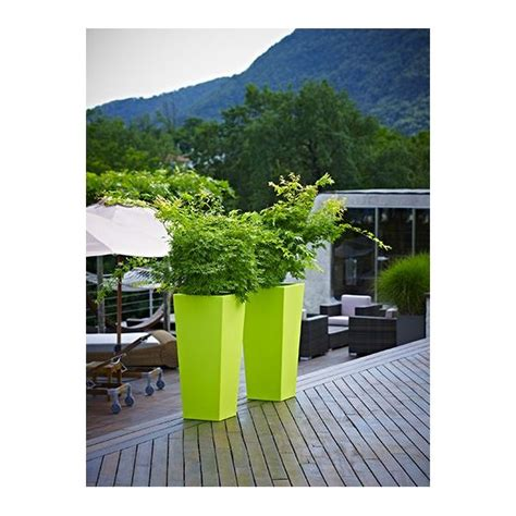 Glossy 25cm pot kiam gloss 25 cm vert pastel cm 25 x 25 x 56 h lt