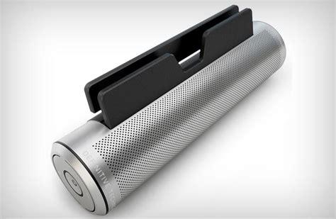 sound cylinder portable bluetooth speaker jebiga