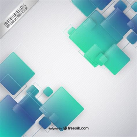 design cover buku simple squares background in green and blue tones vector free