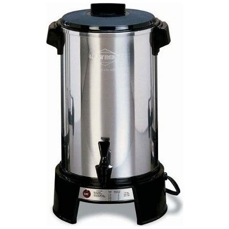 Coffee Maker West Bend west bend commercial coffee maker aluminum 36 cup 43536