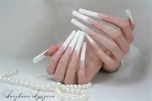 Long beautiful nails