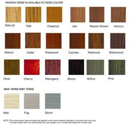 stain colors lowes verde environmentally friendly wood stain penofin