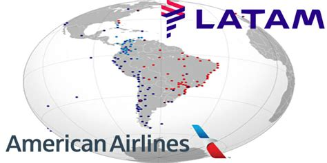 american airlines latam announce plans   join business agreement