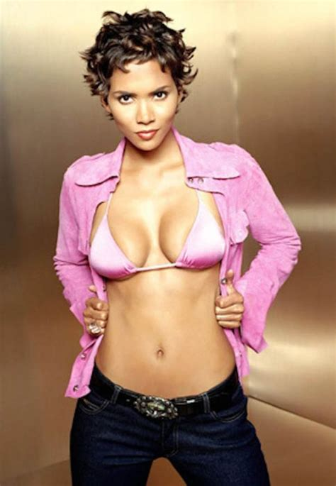 Halle Berry Named Sexiest For 2008 by Sexiest Halle Berry Photos For 45th Birthday 49 Pics