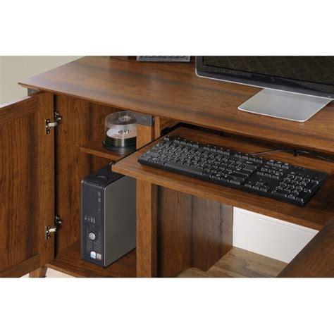 l shaped cherry desk l shaped computer desk in washington cherry 416969