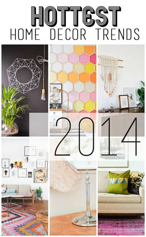 new home design trends 2014 home decor trend predictions 2014 vintage revivals
