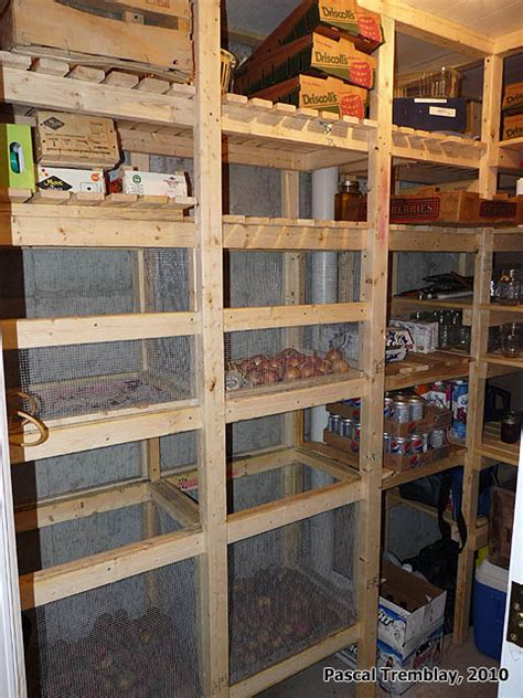 walk  cold room  basement canned food storage usa ideas