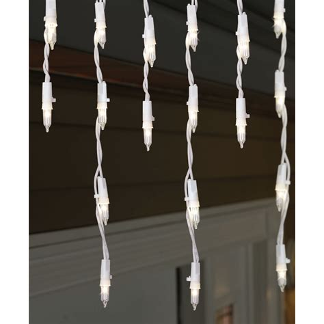 150 ct clear pro line icicle lights kmart