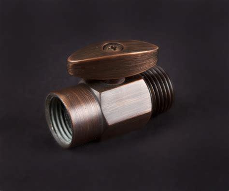 bathroom water shut off valve 100 percent solid brass shower head shut off valve