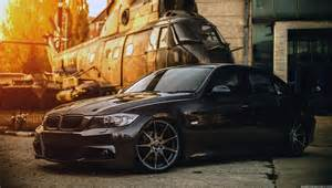 Bmw Wallpaper Bmw E90 Concave Black Helicopter Hd Hd
