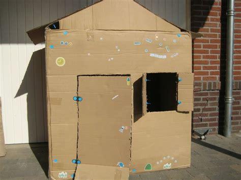 huis van karton 25 beste idee 235 n over kartonnen speelgoed op pinterest