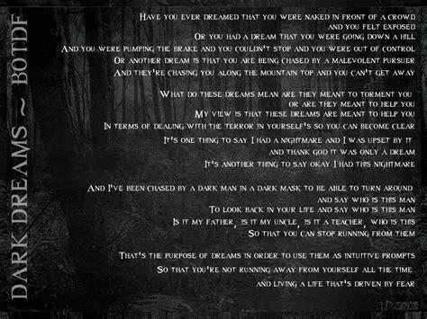 Candyland Lyrics Blood On The Floor by Botdf Dreams Lyrics By Gd0578 On Deviantart