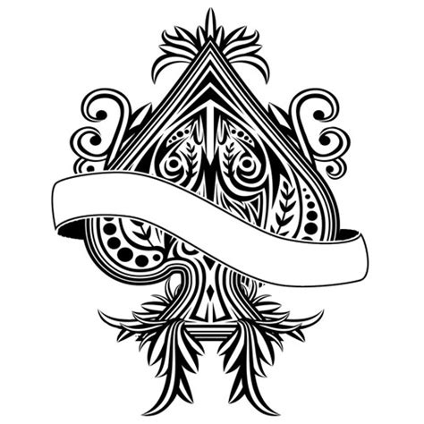 ace of spade tattoo designs ace of spades blacklight back