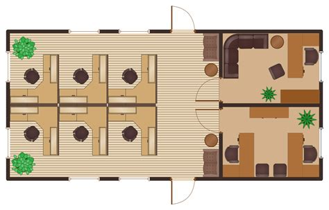 Cubicle Floor Plan by Office Floor Plans