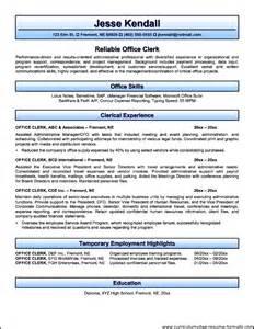 cover letter for mail clerk cover letter exles for mail clerk