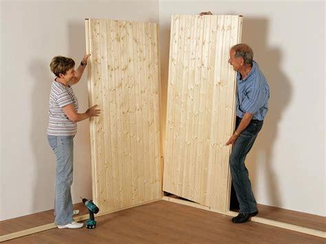 sauna selber bauen plan sauna bildanleitung zum selber aufbauen weka holzbau gmbh