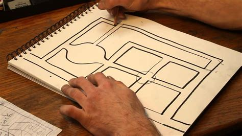 draw house map how to draw maps