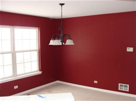 how to paint a room red i like this for accent walls home pinterest red