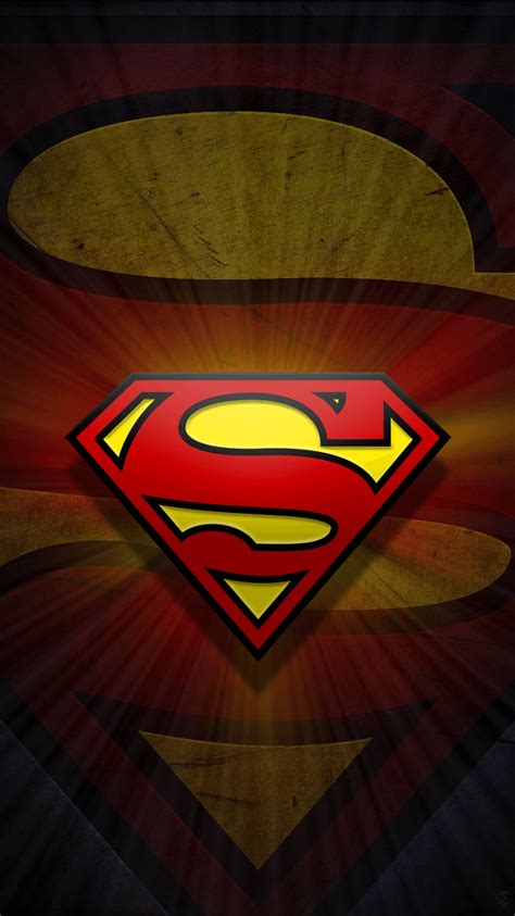 wallpaper hd superman iphone superman logo wallpapers 2017 wallpaper cave