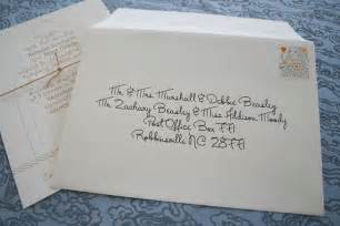 address wedding envelopes