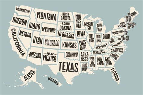 give me a map of the united states one letter does not appear in any u s state name simplemost