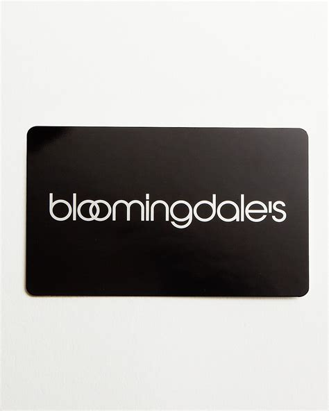 1 Only Gift Card - only at bloomingdale s gift card in black 1000 bloomingdale s
