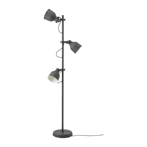 Ikea Com Rugs by Hektar Floor Lamp With 3 Spot Dark Grey Ikea