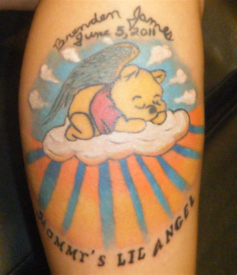 pooh bear tattoo by neogzus on deviantart