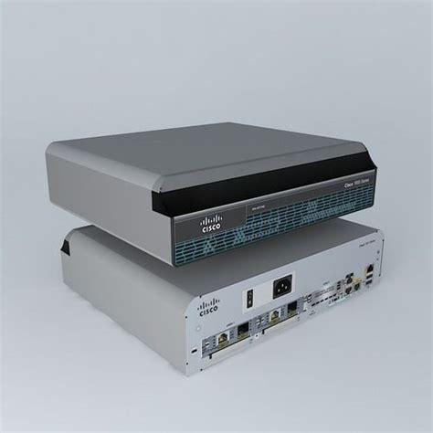 Router Cisco 1941 cisco 1941 router sme free 3d model max obj 3ds fbx stl skp cgtrader