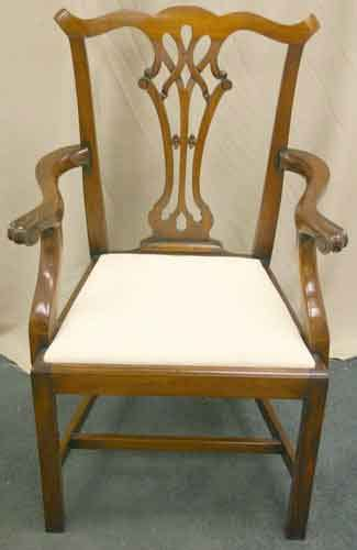 Mahogany Dining Chairs For Sale Chippendale Mahogany Dining Chairs For Sale Antiques Classifieds