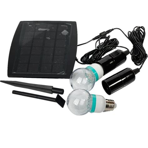 Outdoor Indoor Solar Power Led Lighting System Light L Solar Powered Led Lighting