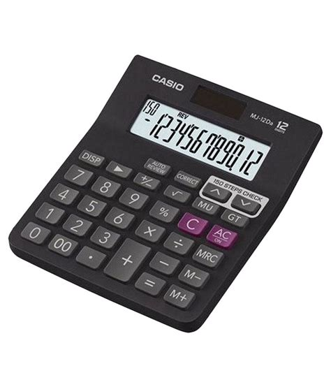 Casio Kalkulator Jj 120d Plus casio mj 12da check calculator available at snapdeal for