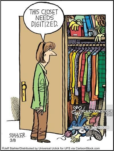 Closet Jokes by Digitised And Comics Pictures From Cartoonstock