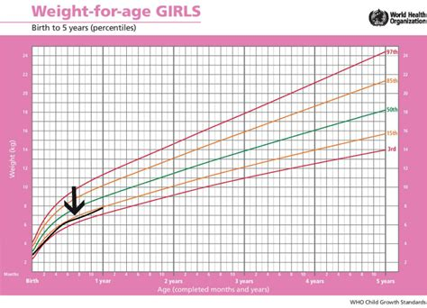 weight chart for standard height and weight chart for babies every parent