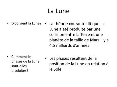 Lalune Id Ppt La Lune Powerpoint Presentation Id 2700541