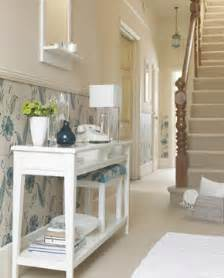 White Narrow Sideboard Hallway Decorating Ideas On A Shoestring Room Envy