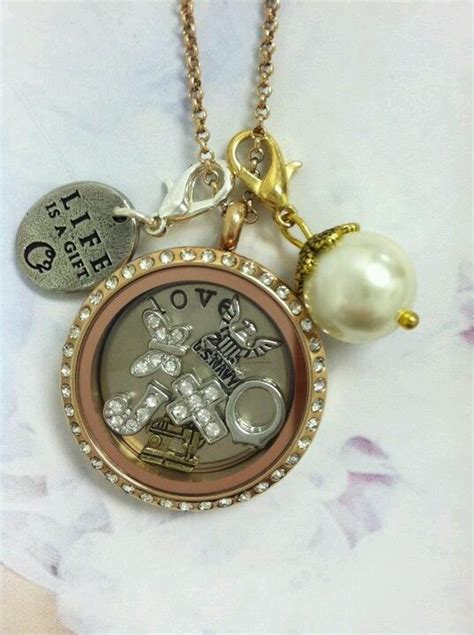 Origami Owl Locket Necklace - custom jewelry custom jewelry lockets