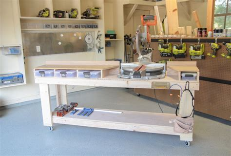 chop saw bench diy miter saw bench the home depot
