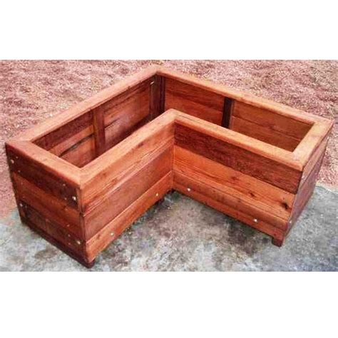 Redwood Planter Box Plans by 47 Best Images About Wood Planters Hanging Planters On