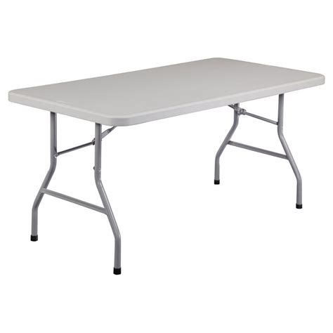 Folding Table by Plastic Folding Table Rectangular Portable Outdoor