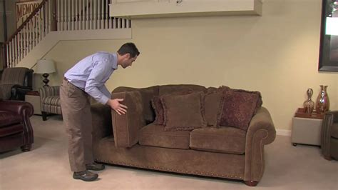 youtube couch regular maintenance of your la z boy recliner or sofa